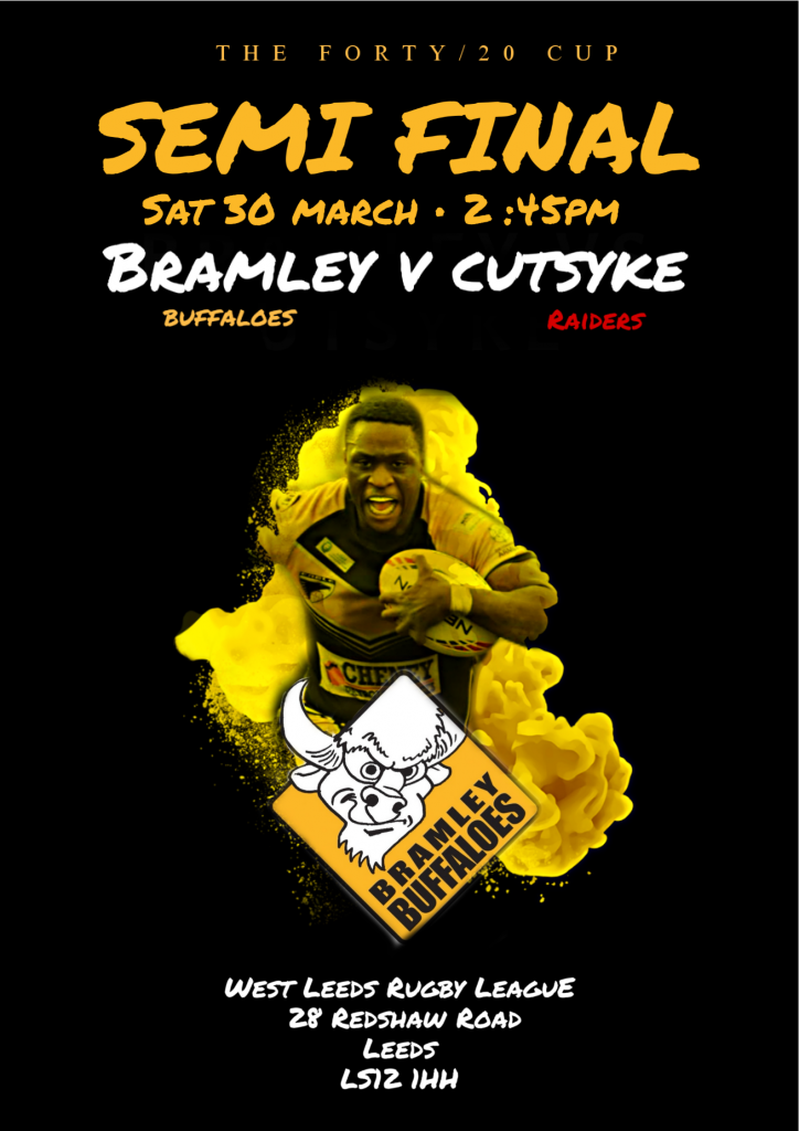 Bramley Buffaloes Vs Cutsyke